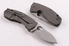 Spyderco Titanium Cake Fertilizer Knife Outdoor Survival Camping Hunting Knife Folding Knife Kabar Hunting Knives For Sale From Tom_knives, $40.95  Dhgate.Com