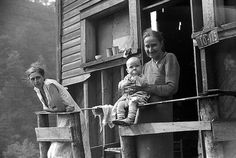 1938: The mother, wife and child of an unemployed coal miner.  The wife is suffering from tuberculosis.
