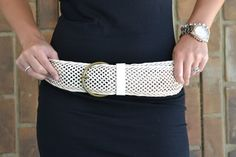 It's a Cinch Braided Belt