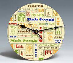 Mah Jongg Clock