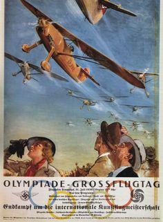 Olympiade - Grossflugtag. 1936