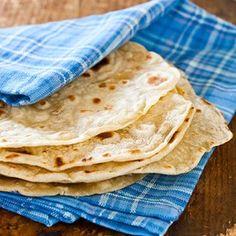Flour Tortillas- easy to make