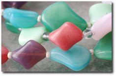 Necklace in spring colour.  Photographer: Kozik Magdalena