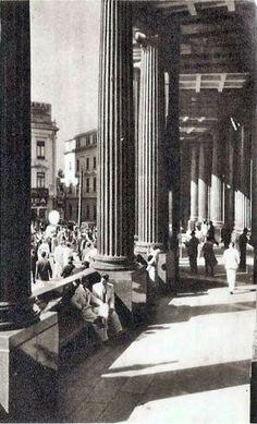 Década de 40 - Edifício da sede, na Sé, da Caixa Econômica Federal.