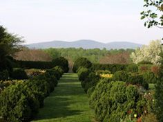 """""""Five Overlooked Gems at U.Va."""" from The University of Virginia Magazine, includes Morea and Morven Gardens."""