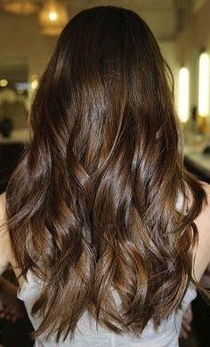 chocolate hair Dark Chocolate Brown Hair Color With Lowlights JAMiefyrl Brunette Color, Brunette Hair, Blonde Hair, Dark Chocolate Brown Hair, Chocolate Color, Dark Brown, Milk Chocolate Hair, Golden Brown, Dark Red