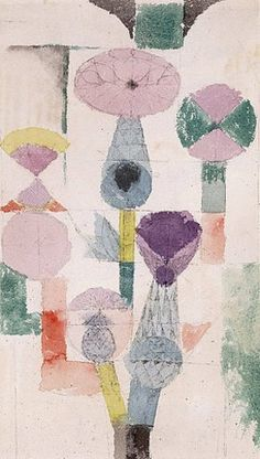Paul Klee: Distelblüte