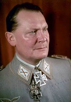 On February 26, 1935, Nazi leader Adolf Hitler signs a secret decree authorizing the founding of the Reich Luftwaffe as a third German military service to join the Reich army and navy. In the same decree, Hitler appointed Hermann Goering, a German air hero from World War I and high-ranking Nazi, as commander in chief of the new German air force.: