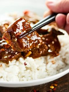 After marinating, this Easy Mongolian Beef Recipe takes less than 30 minutes to make! This Mongolian Beef is easy