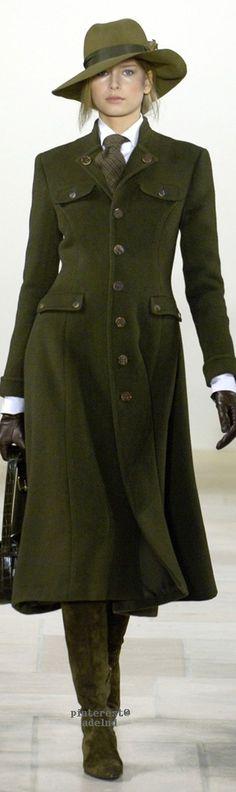 Ralph Lauren Fall 2006  • тнє LOOK BOOK • ❤️ Babz ✿ιиѕριяαтισи❀  #abbigliamento