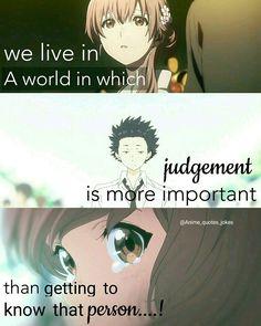Koe no Katachi Anime quotes Quote