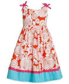 Bonnie Jean Girls Dress, Girls Cage-Back Dress - Kids Girls 7-16 - Macys