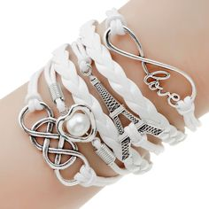 Infinite Multilayer Leather Charm Bracelet – 9 Styles – FREE! – Great Dealz Now!