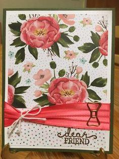 Birthday Blooms Stamp Set; Birthday Bouquet Designer Series Paper; www.jansstampingcreations.com