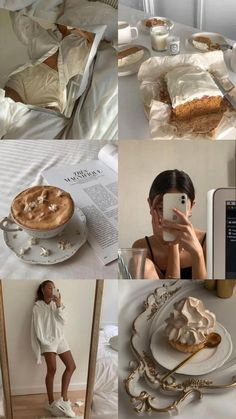 Classy Aesthetic, Brown Aesthetic, Aesthetic Collage, Aesthetic Food, Aesthetic Girl, Vie Motivation, Healthy Lifestyle Motivation, Girl Inspiration, Girls Life