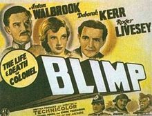 The Life and Death of Colonel Blimp Deborah Kerr, Film Studio, Life And Death, The Life, Anton, Good Movies, I Movie, Plays