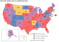 Human Trafficking In The United States | ... looks at the laws US states use to protect victims of trafficking