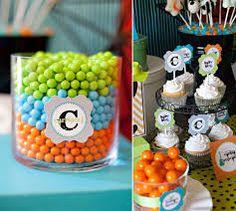 WALLYKAZAM PARTY - Ideas - Dessert Table - colors