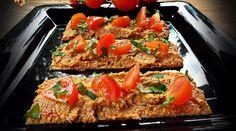 pate de ardei copt cu ciuperci Vegan Breakfast Recipes, Healthy Salad Recipes, Vegan Vegetarian, Vegetarian Recipes, Meatloaf, Food And Drink, Appetizers, Pasta, Cooking