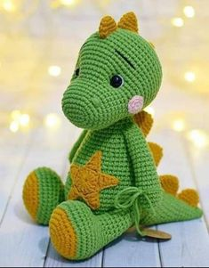 Photo by NrpywkN AAR AeTeN on March can find Crochet patterns and more on our website.Photo by NrpywkN AAR AeTeN on March Crochet Dinosaur Patterns, Crochet Bunny Pattern, Crochet Amigurumi Free Patterns, Crochet Dolls, Crochet Baby, Crochet Monsters, Crochet Animals, Crochet Dragon, Amigurumi Doll