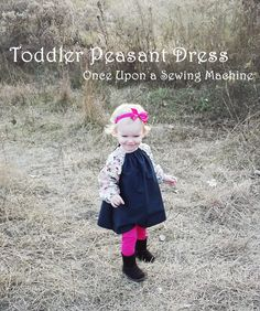 This One is for the Girls, Four Dresses one Pattern - Once Upon a Sewing Machine