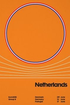 Netherlands poster, by Trebleseven