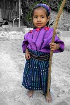 Little girl from Guatemala