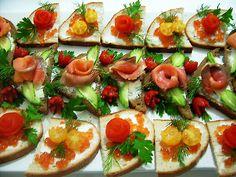 Chlebíčky,jednohubky-inšpirácie | Báječné recepty