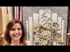 """Panels? """"Secret Window"""" Pattern?? Giving Away 3 FINISHED QUILTS??? - YouTube"""