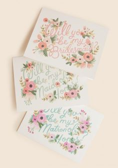 Will You Be My Maid Of Honor Card By Rifle Paper Co.