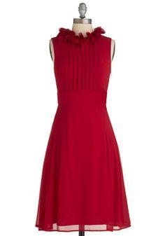 Fashion Show Hostess Dress, #ModCloth...Wish I had somewhere to go to wear this.