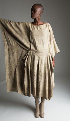 Issey Miyake Caftan Dress