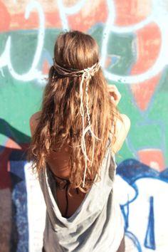 Hair and hair piece