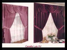 Como hacer una cenefa o cortina drapeada Parte 1/3 - La receta de la abuelita - YouTube