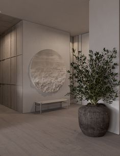 Order professional interior design studio by Sergey Makhno. Home Room Design, Interior Design Living Room, Interior Decorating, House Design, Flur Design, Wall Design, Design Design, Interior Architecture, Interior And Exterior