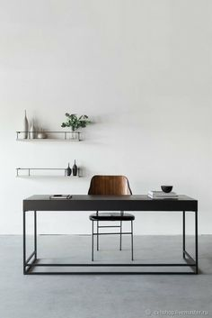 Мебель ручной работы. Ярмарка Мастеров - ручная работа. Купить Письменный стол в стиле лофт. Handmade. Стол, деревянный стол