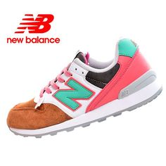Latest New Balance 996 Pink Brown Green White Womens Shoes Cheap New Balance, New Balance 996, New Balance Pink, New Balance Women, New Balance Sneakers, New Balance Shoes, Sneakers For Sale, Pink Brown, Green