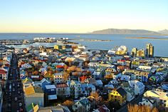 "Reykjavik, Iceland - Thinking a four day weekend would be great. ""So, what did you do on the weekend? Oh, not much, just went to Iceland. Places To Travel, Places To See, Travel Destinations, Iceland Pictures, Landscape Photography, Travel Photography, Europe, Beautiful Sites, Holiday Travel"