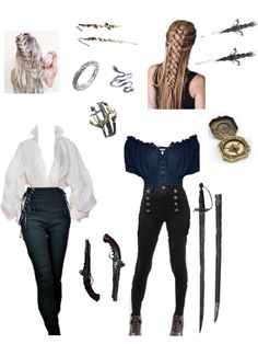 Cosplay Outfits, Edgy Outfits, Cute Casual Outfits, Pretty Outfits, Girl Outfits, Fashion Outfits, Warrior Outfit, Mode Steampunk, Character Inspired Outfits