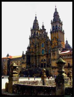 Catedral de Santiago - Plaza do Obradoiro  Santiago de Compostela  Spain
