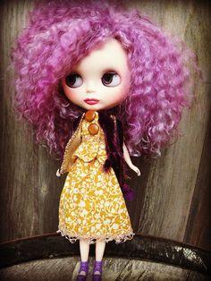 ON RESERVE  Suki  OOAK Blythe Art Doll  On Layaway by cindysowers, $150.00