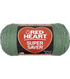 Red Heart Super Saver Yarn 0668 Honeydew - - - I Crochet World Crochet Yarn, Knitting Yarn, Free Knitting, Jumbo Yarn, Super Saver, Chunky Yarn, Joanns Fabric And Crafts, Hunter Green, Knitting Projects
