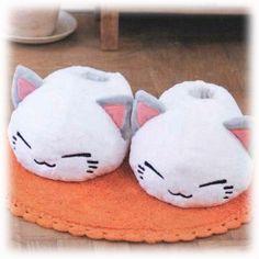 Nemu Neko Hausschuhe - weiß Figur online kaufen