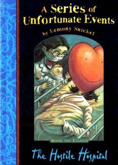 The Hostile Hospital (A Series of Unfortunate Events) by Lemony Snicket,http://www.amazon.com/dp/1405206128/ref=cm_sw_r_pi_dp_10nPsb15EBKFZ5BD
