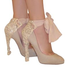 covers that let you play dress up with your shoes. Heel Condoms have many perks: + Make simple shoes a conversation piece + Mix and Match with outfits + Great for travel + Easy to wear + Protect heels from damage + Reusable +One size fits all Simple Shoes, Lace Heels, Playing Dress Up, Wedding Shoes, Me Too Shoes, Shoe Boots, High Heels, Sequins, My Style