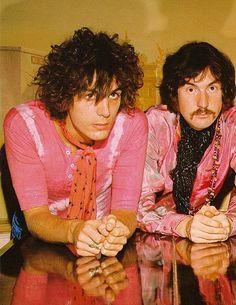 Syd Barrett & Nick Mason