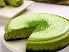 Чизкейк Нью-Йорк с зелёным чаем / 抹茶NYチーズケーキ