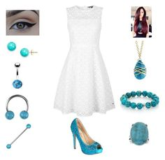 """Turquoise is a girls best friend"" by bsalvinski6364 on Polyvore featuring Bling Jewelry, Sapanyu, Nest, Tommy Hilfiger and Lauren Lorraine"