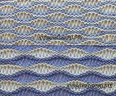 """kötés minta 521 """"a gerincén egy hullám»   katalógusa kötés minták"""