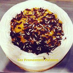 Notre gâteau pêches-passion rencontre un franc succès aux Fromentiers Puteaux  !